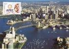 Australia 2007 APEC - Asia- Pacific Economic Co-operation 50c Sydney Harbour Bridge Maximum Card - Maximumkarten (MC)