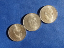 Espagne España Spain 3x 100 Pesetas Argent Silver Plata 0,800 Franco 1966 *68 Muy Buen Estado.  Ver Fotos - [ 5] 1949-… : Reino