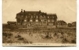 """Ancienne Cp """" Hardelot Plage, L'Hôtel D'Hardelot"""" Avec Cachet Militaire 1916 - France"""