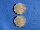 Espagne España Spain 2x 100 Pesetas Argent Silver Plata 0,800 Franco 1966 *68, Muy Buena Conservación.  Ver Fotos - [ 5] 1949-… : Reino
