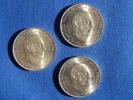 Espagne España Spain 3x 100 Pesetas Argent Silver Plata 0,800 Franco 1966 *67, Nuevas. Ver Fotos - [ 5] 1949-… : Reino