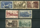 France (1938) N 388 à 394 (o) - France