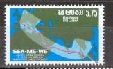 Sri Lanka 1986 Submarine Cable MNH - Lot. 732 - Sri Lanka (Ceylon) (1948-...)