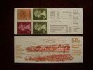 GB BOOKLETS 1986 FOLDED 50p ROMAN BRITAIN ´PORTCHESTER CASTLE´  MINT & COMPLETE. - Booklets
