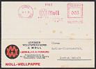 DR 1936, AFS =003= LUCKA Kr. Altenburg Moll Wellpappe Drucksache - Deutschland