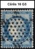 Planchage Cérès 25c. Bleu De 1871 - 16 G3 - 1871-1875 Ceres