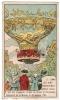 IMAGE 7 DANS LES AIRS PREMIERE MONTGOLFIERE EMPORTANT DES VOYAGEURS PILATRE DE ROZIER ET D'ARLANDES ASCENSION DE LA MUET - Vieux Papiers