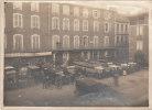 Saint-Girons. Place Du Pladelon. Hôtel Ferrière. (18 X 13 Cm ) Photo Ancienne - Saint Girons