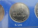 1973 - 1/2 Lire (Lira) - UNC Issue Du Coffret - Israel - Israel