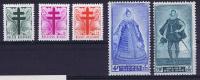 Belgium: 1948  787-791 MNH/Neuf**