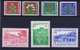 Belgium: 1950 834-840   MNH/Neuf**