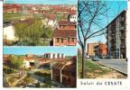 SALUTI DA CESATE (MI) - VEDUTINE - F/G - V: 1966 - Milano (Milan)
