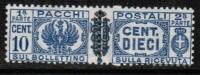 ITALY   Scott #  Q 38**  VF MINT NH Pair - 5. 1944-46 Lieutenance & Umberto II