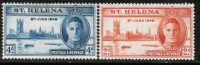 ST.HELENA.   Scott #  128-9*  VF MINT Hinged - Saint Helena Island