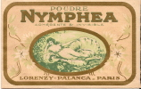 Parfum/Savon/Poudre parfum�e/Nymph�a/Lorenzy- Palanca/Paris/vers 1910                  PARF5