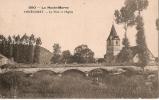 Vouécourt- Le Pont Et L´Eglise. - France