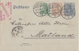 DR GS Zfr. Minr.69,70 Berlin 18.10.04 Gel. Nach Italien - Deutschland