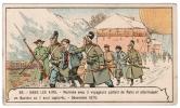 IMAGE 33 DANS LES AIRS WERREKE AVEC 3 VOYAGEURS PARTENT DE PARIS ET ATTERISSENT EN BAVIERE OU IL SONT CAPTURES 1870 - Vieux Papiers