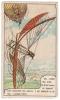 IMAGE 38 DANS LES AIRS DE GROOF ESSAIE UN APPAREIL POUR DESCENDRE DES BALLONS IL EST PRECIPITE ET SE TUE LONDRES 1874 - Vieux Papiers
