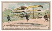 IMAGE 49 DANS LES AIRS L'INGENIEUR CHANUTE ESSAIE UN AEROPLANE A PLANS SUPERPOSES PERFECTIONNE ENSUITE PAR LES WRIGHT - Vieux Papiers