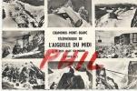 Chamonix-Mont Blanc - Souvenir De L´Aiguille Du Midi, Ref 1203-451 - Chamonix-Mont-Blanc