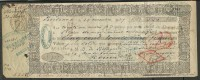 FRANCIA - LETRA DE CAMBIO DOCUMENTO DEL AÑO 1857 - Letras De Cambio