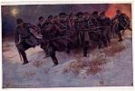 AK ROTES KREUZ OFFIZIELLE KARTE NR.551.AUS DEM GOLDENEN BUCHE ARM SIGNIERT KARTE : FR.JUNG Ku.K.T.DION.3. OLD  POSTCARD - Rotes Kreuz