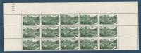 FRANCE BLOC DE 15 TIMBRES NEUF** LUXE Y&T N°358   Valeur 64,50 - Feuilles Complètes