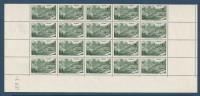FRANCE BLOC DE 25 TIMBRES NEUF** LUXE Y&T N°358 Avec Coin Daté 37   Valeur 115,30 - Feuilles Complètes