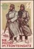 DR Propagandakarte - Die SS - Polizei Im Fronteinsatz Ungebraucht - Deutschland
