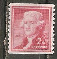 USA. Scott # 1055 MNH Coil.  Liberty Issue 1954 - Coils & Coil Singles