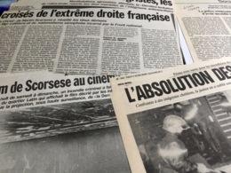 Dossier : 17 Articles Sur La Sortie Du Film De Scorsesse, La Dernière Tentation Du Christ - Riviste
