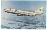 AIRCRAFT -  DC - 10 Jets, NATIONAL  Airlines - 1946-....: Moderne