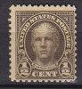 United States 1925 Mi. 259 PA     ½ C Nathan Hale MH* - Verenigde Staten
