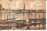 Let090/ Riga, Hafen 1918 (Feldpost) - Lettland