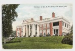 Chicago - Lake Geneva - Wis - Residence Of Mrs. N. W. Harris -  Back Is Written - Etats-Unis