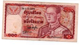THAILAND 100 BAHT 1978 P 89 SIGN 55 - Tailandia