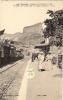 CLELLES 38 La Gare Et Le Mont Aiguille Belle Animation Avec Train - Clelles