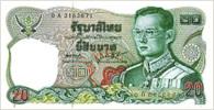 THAILAND 20 BAHT ND 1981 P 88 UNC - Tailandia
