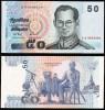 Thailand P 112 - 50 Bath 2004 - UNC - Tailandia