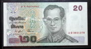 Thailand Banknote 20 Baht Series 15 P#109 SIGN#74 - Tailandia