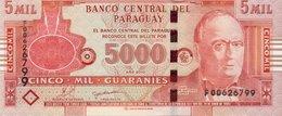Paraguay 5000 Guarnies (2010) - Lopez/Palace/p223c - Paraguay