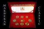 PRIMER ESTUCHE EUROSET DE MALTA AÑO 2008 - Malta