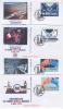 FDC 1994. Quatre Enveloppes N° 2880 à 2883.Inauguration Du Tunnel Sous Le Manche. - FDC