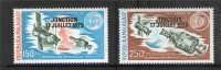 MADAGASCAR 1975 APOLLO-SOYOUZ  YVERT  N°A153/54  NEUF MH* - Space