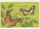 MINT NEVER HINGED SOUVENIR SHEET OF BUTTERFLIES  #  290-4  (  GAMBIA  1576 - Butterflies