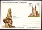 Polen Polska 1987 - Kirche - Besuch Von Papst Johannes Paul II. In Polen - Postkarte - Kirchen U. Kathedralen