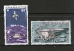 TCHAD 1972 LUNA  YVERT  N°A125/26  NEUF MH* - Space