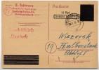 Aufbrauch OPD Neustadt P G 831 BI Ludwigshafen 1946 Kat. 50,00 € - Französische Zone