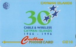 *CAYMAN ISLANDS: 94CCIC* - Scheda Usata - Cayman Islands